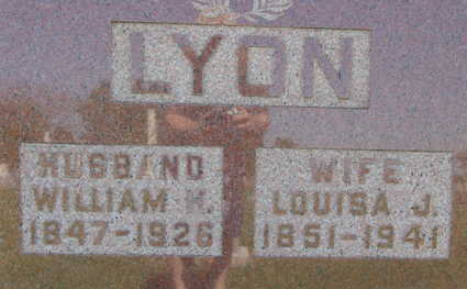 LYON, WILLIAM H - Warren County, Iowa | WILLIAM H LYON