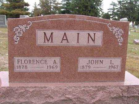 MAIN, FLORENCE A. - Warren County, Iowa | FLORENCE A. MAIN