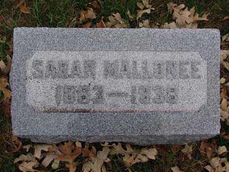 MALLONEE, SARAH - Warren County, Iowa | SARAH MALLONEE