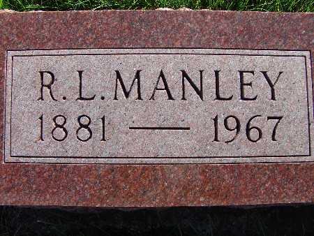 MANLEY, R. L. - Warren County, Iowa | R. L. MANLEY