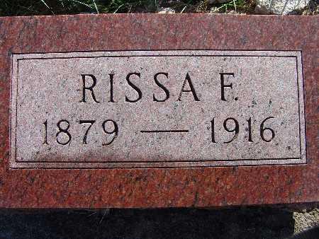 MANLEY, RISSA E. - Warren County, Iowa   RISSA E. MANLEY