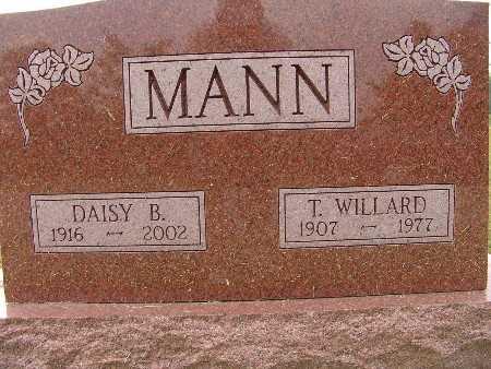 MANN, DAISY B. - Warren County, Iowa | DAISY B. MANN