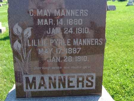 MANNERS, C MAY - Warren County, Iowa | C MAY MANNERS