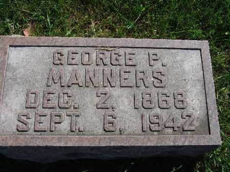 MANNERS, GEORGE P - Warren County, Iowa | GEORGE P MANNERS