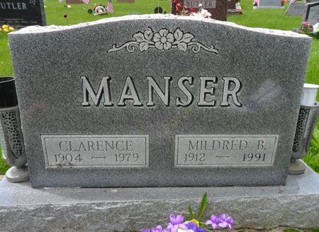 MANSER, MILDRED B. - Warren County, Iowa | MILDRED B. MANSER