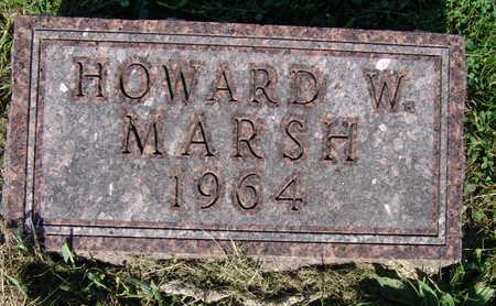 MARSH, HOWARD W. - Warren County, Iowa   HOWARD W. MARSH