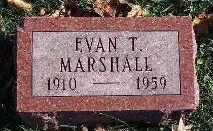 MARSHALL, EVAN T. - Warren County, Iowa   EVAN T. MARSHALL