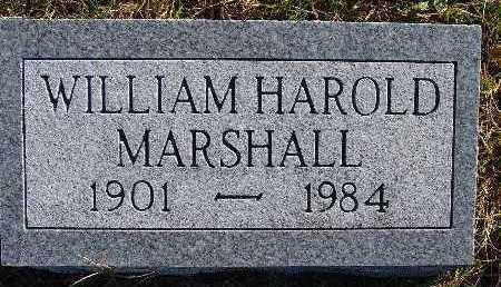 MARSHALL, WILLIAM HAROLD - Warren County, Iowa | WILLIAM HAROLD MARSHALL