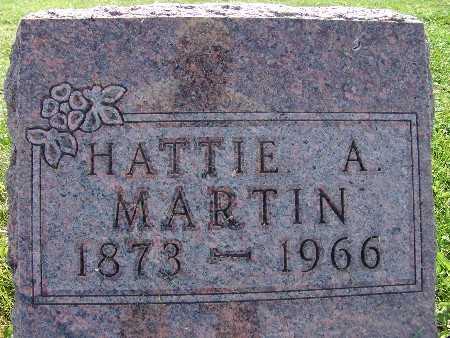 MARTIN, HATTIE A. - Warren County, Iowa | HATTIE A. MARTIN