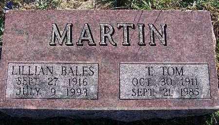 MARTIN, T. TOM - Warren County, Iowa | T. TOM MARTIN