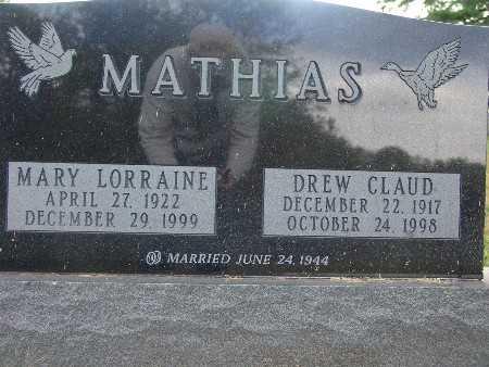 MATHIAS, MARY LORRAINE - Warren County, Iowa | MARY LORRAINE MATHIAS
