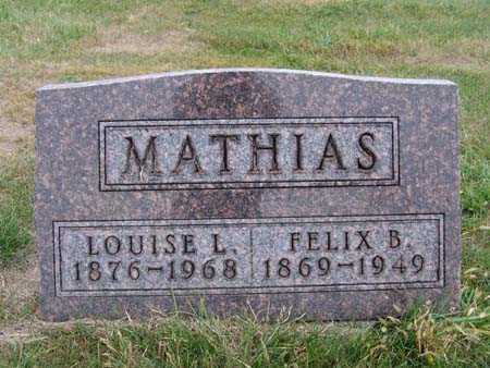 MATHIAS, FELIX B. - Warren County, Iowa | FELIX B. MATHIAS