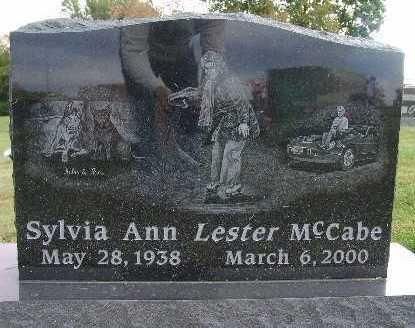 MCCABE, SYLVIA ANN LESTER - Warren County, Iowa | SYLVIA ANN LESTER MCCABE