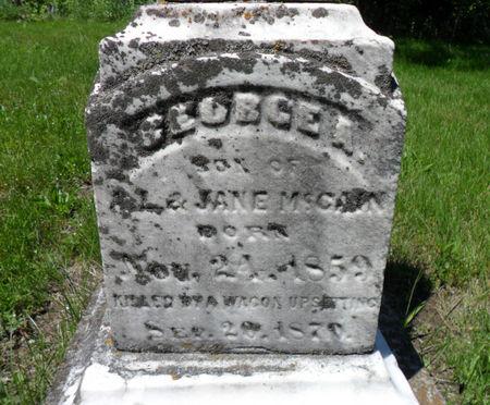 MCCAIN, GEORGE A. - Warren County, Iowa | GEORGE A. MCCAIN