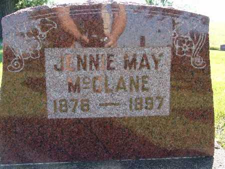 MCCLANE, JENNIE MAY - Warren County, Iowa   JENNIE MAY MCCLANE