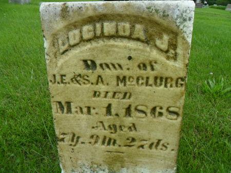 MCCLURG, LUCINDA J. - Warren County, Iowa | LUCINDA J. MCCLURG