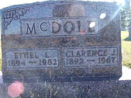 MCDOLE, CLARENCE J. - Warren County, Iowa | CLARENCE J. MCDOLE