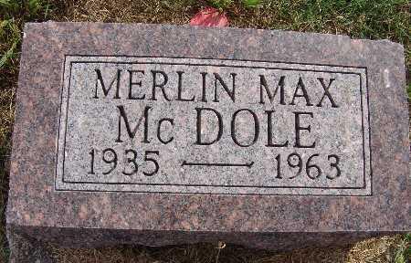 MCDOLE, MERLIN MAX - Warren County, Iowa | MERLIN MAX MCDOLE
