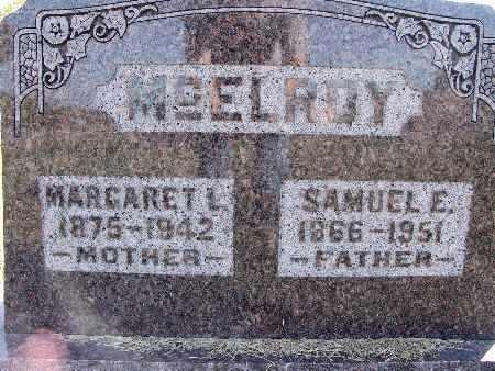 MCELROY, MARGARET L. - Warren County, Iowa | MARGARET L. MCELROY