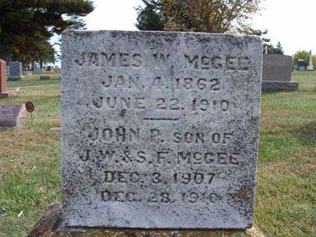 MCGEE, JOHN P. - Warren County, Iowa | JOHN P. MCGEE