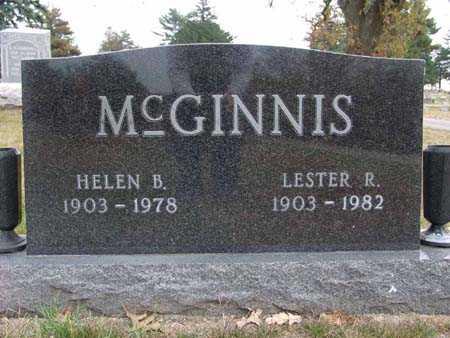 MCGINNIS, HELEN B. - Warren County, Iowa | HELEN B. MCGINNIS