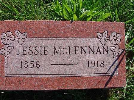 MCLENNAN, JESSIE - Warren County, Iowa   JESSIE MCLENNAN