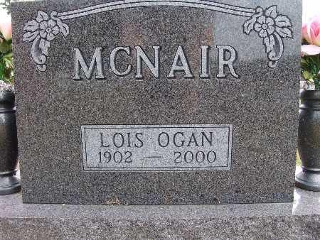 MCNAIR, LOIS OGAN - Warren County, Iowa | LOIS OGAN MCNAIR