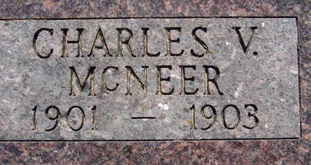 MCNEER, CHARLES V - Warren County, Iowa | CHARLES V MCNEER