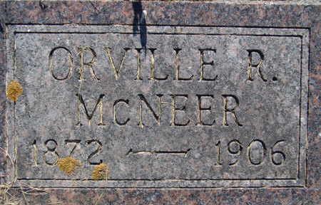 MCNEER, ORVILLE R - Warren County, Iowa | ORVILLE R MCNEER