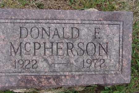 MCPHERSON, DONALD F. - Warren County, Iowa | DONALD F. MCPHERSON