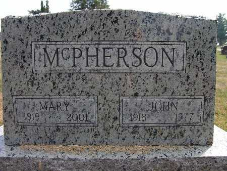 MCPHERSON, JOHN - Warren County, Iowa | JOHN MCPHERSON