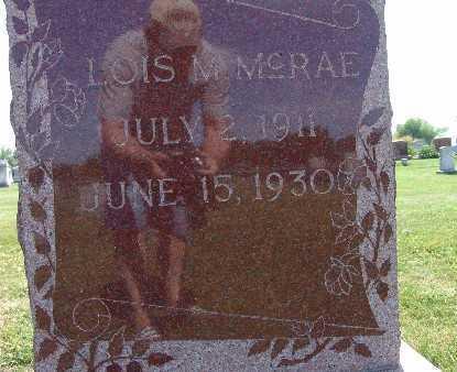 MCRAE, LOIS M. - Warren County, Iowa | LOIS M. MCRAE