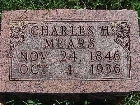 MEARS, CHARLES H. - Warren County, Iowa   CHARLES H. MEARS