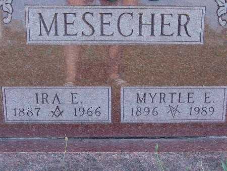 MESECHER, MYRTLE E. - Warren County, Iowa | MYRTLE E. MESECHER
