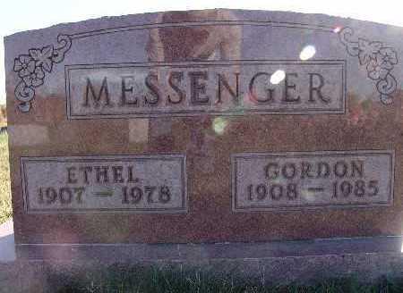 MESSENGER, ETHEL - Warren County, Iowa | ETHEL MESSENGER