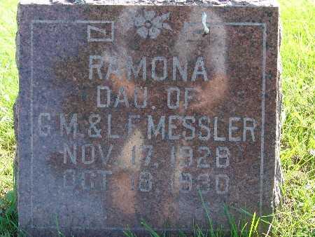 MESSLER, RAMONA - Warren County, Iowa   RAMONA MESSLER