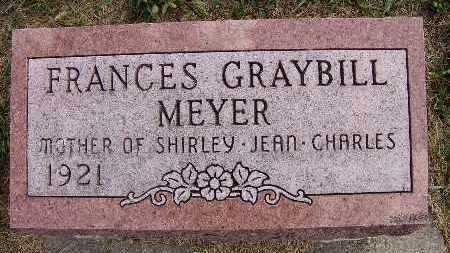 GRAYBILL MEYER, FRANCES - Warren County, Iowa | FRANCES GRAYBILL MEYER