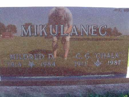MIKULANEC, C. G. CHALK - Warren County, Iowa | C. G. CHALK MIKULANEC