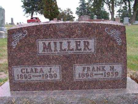 MILLER, CLARA J. - Warren County, Iowa   CLARA J. MILLER