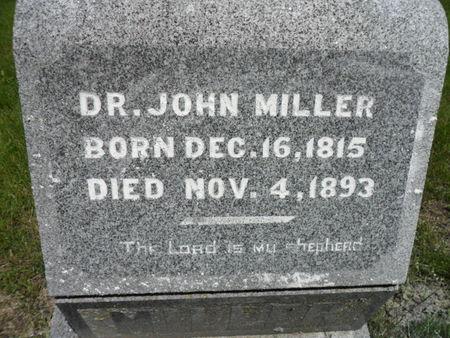 MILLER, JOHN - Warren County, Iowa   JOHN MILLER
