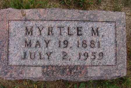 MILLER, MYRTLE M. - Warren County, Iowa | MYRTLE M. MILLER