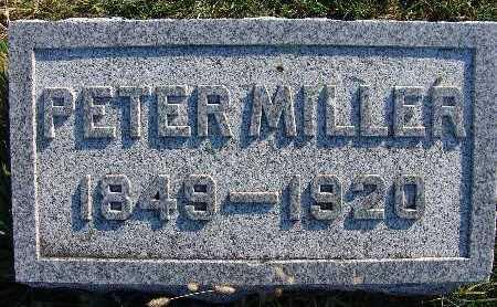 MILLER, PETER - Warren County, Iowa | PETER MILLER