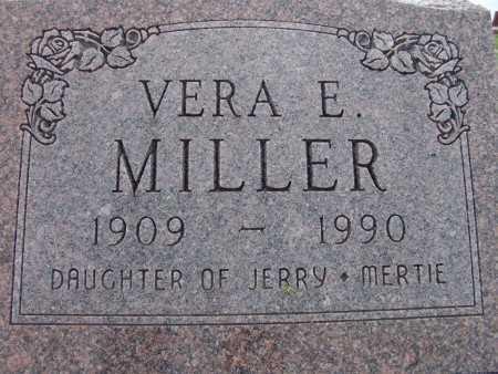 MILLER, VERA E. - Warren County, Iowa   VERA E. MILLER