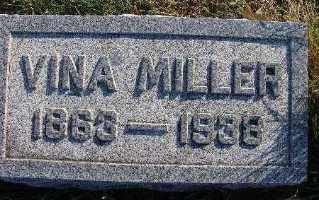 MILLER, VINA - Warren County, Iowa | VINA MILLER