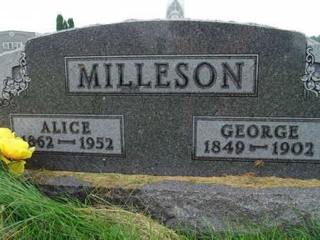 MILLESON, GEORGE - Warren County, Iowa | GEORGE MILLESON