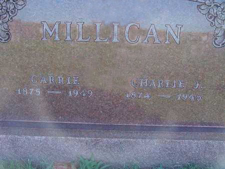 MILLICAN, CHARLIE J. - Warren County, Iowa   CHARLIE J. MILLICAN