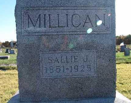 MILLICAN, SALLIE J. - Warren County, Iowa | SALLIE J. MILLICAN