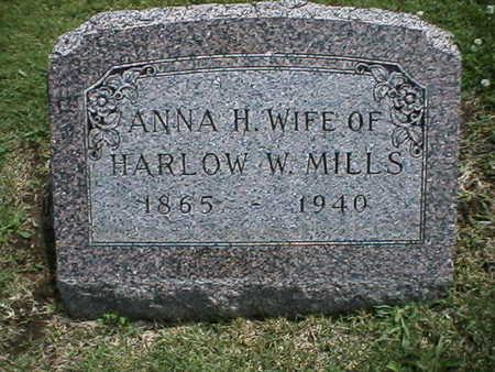 MILLS, ANNA - Warren County, Iowa | ANNA MILLS