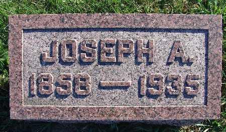 MITCHELL, JOSEPH A. - Warren County, Iowa   JOSEPH A. MITCHELL
