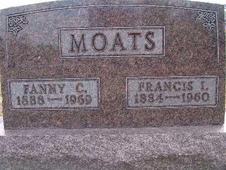 MOATS, FANNY C. - Warren County, Iowa | FANNY C. MOATS